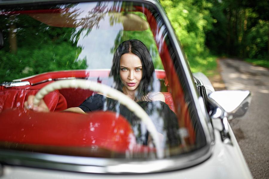 Car Digital Art - Angelina Petrova by Dorothy Binder