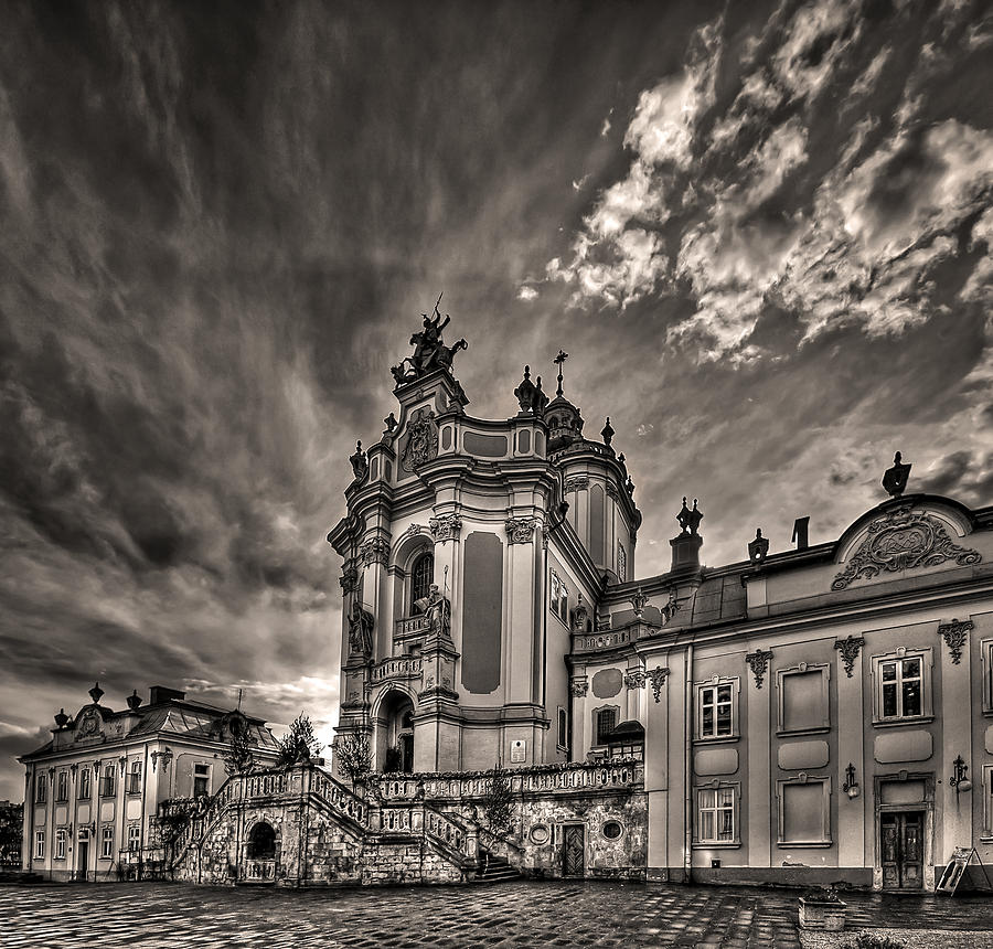 Architecture Photograph - Angels And Demons by Evelina Kremsdorf