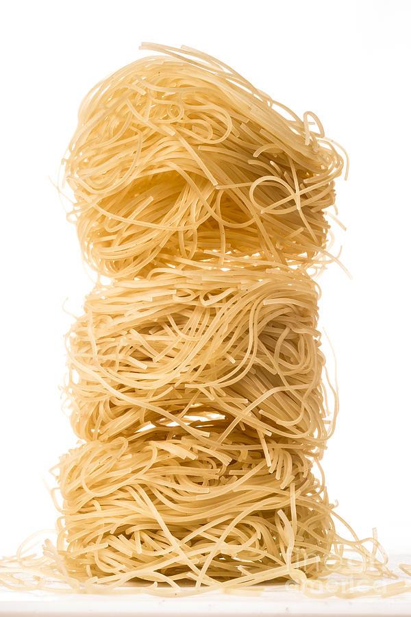 Angels Hair Pasta Photograph
