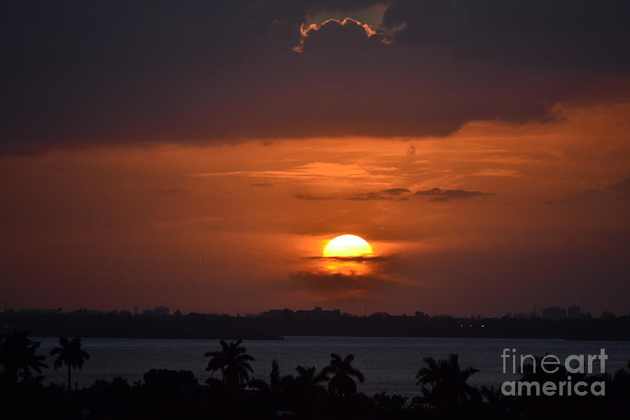 Miami Beach Photograph - Angels Head Sunset by Rene Triay Photography