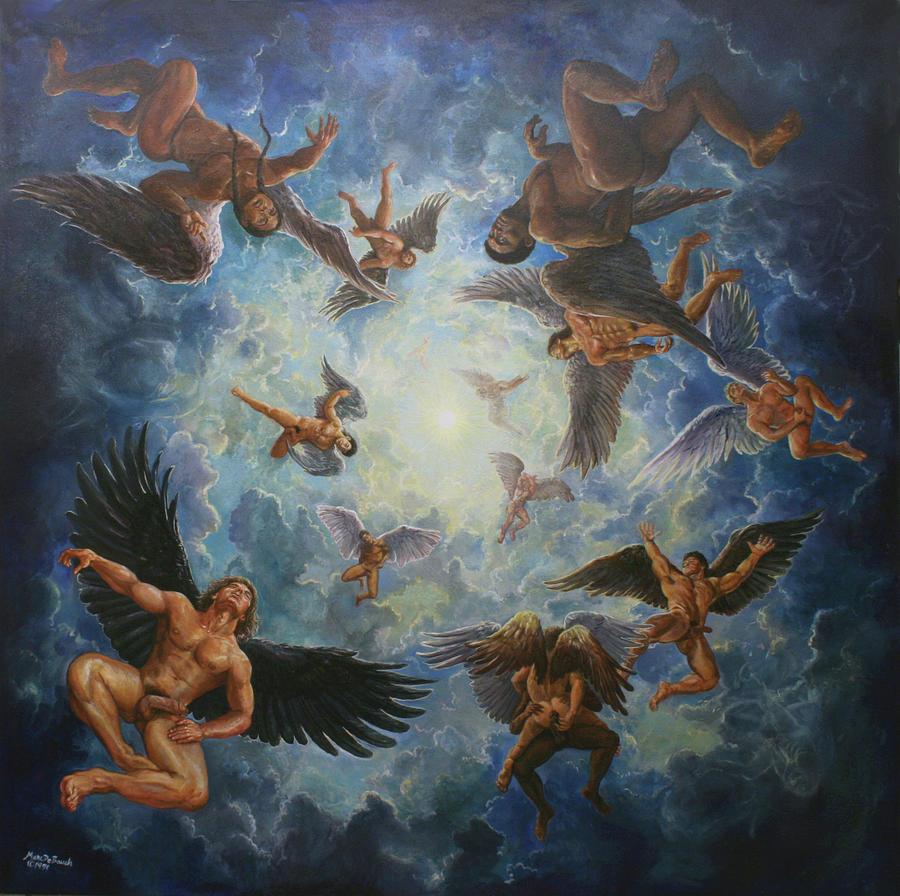 Angels in Heaven  by Marc DeBauch