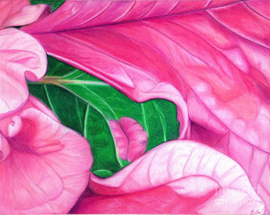 Floral Painting - Passion by Ekta Gupta