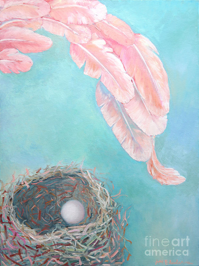 Angel Painting - Angels Nest by Ana Maria Edulescu