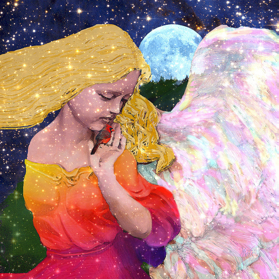 Angels Protect The Innocents Digital Art