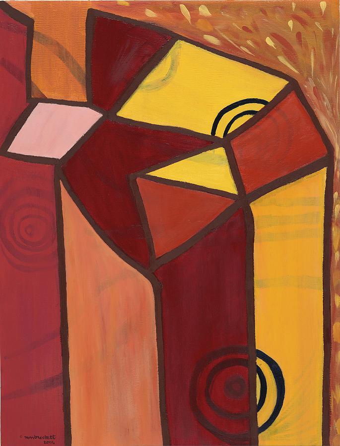 Angels R Painting by Nancy Brockett