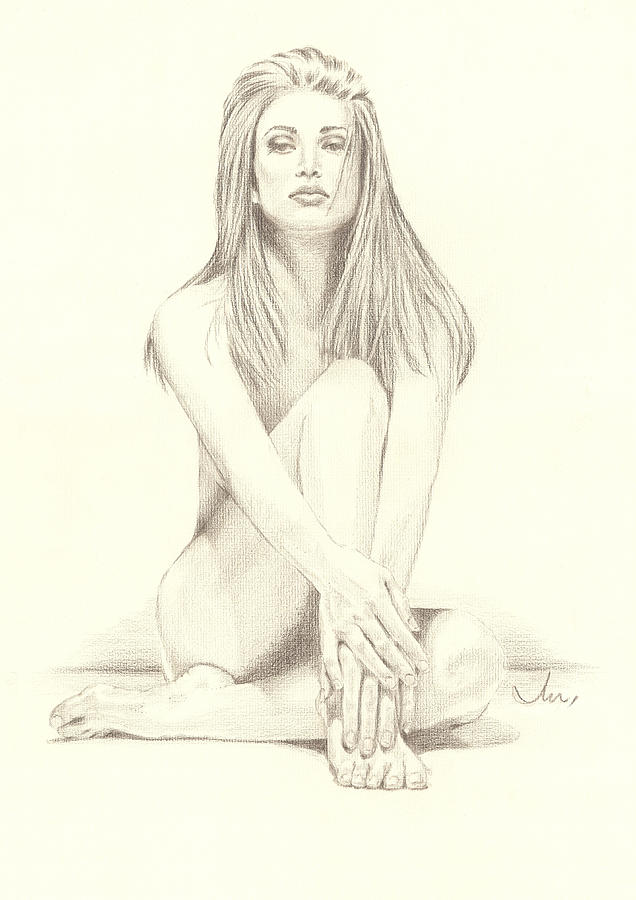 angie drawing by john d moulton