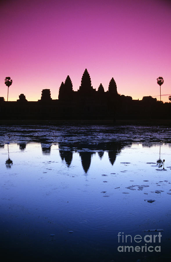 Ancient Photograph - Angkor Wat by Gloria & Richard Maschmeyer - Printscapes