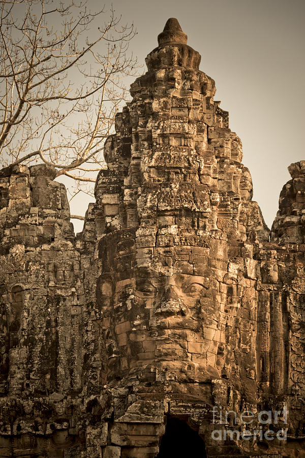 12th Century Photograph - Angkor Wat by Juergen Held