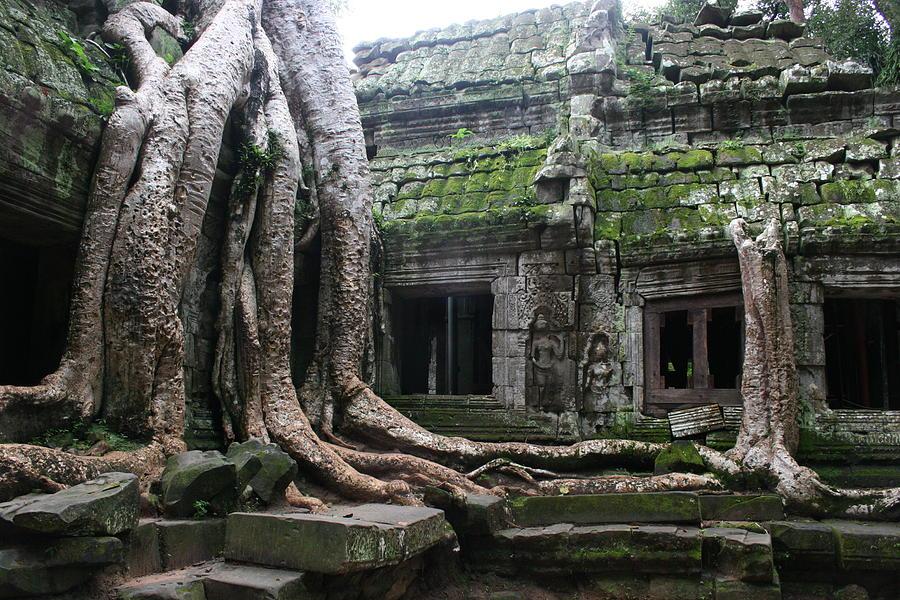 Angkor Wat Photograph by Linda Russell