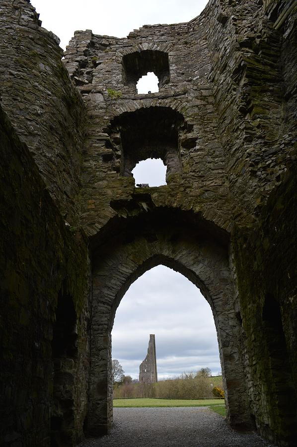 Castles Photograph - Anglo - Norman Castle. by Terence Davis