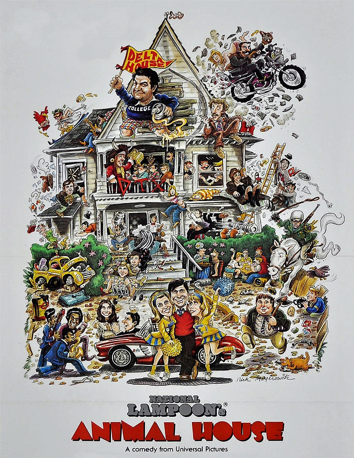 Animal House Photograph - Animal House  by Movie Poster Prints
