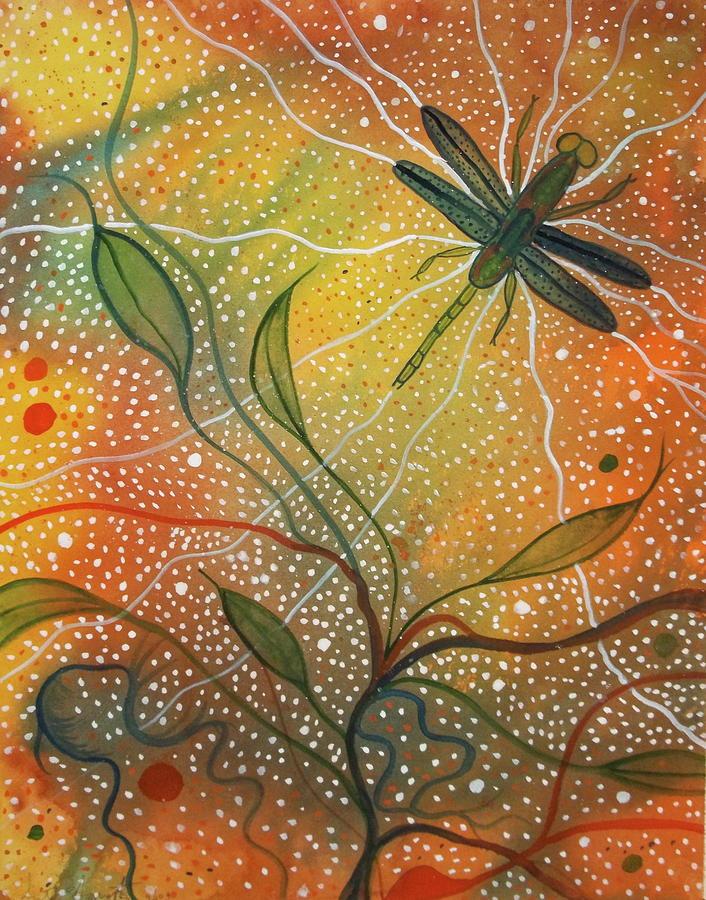 Anisozygoptera Painting by Scott Harrington