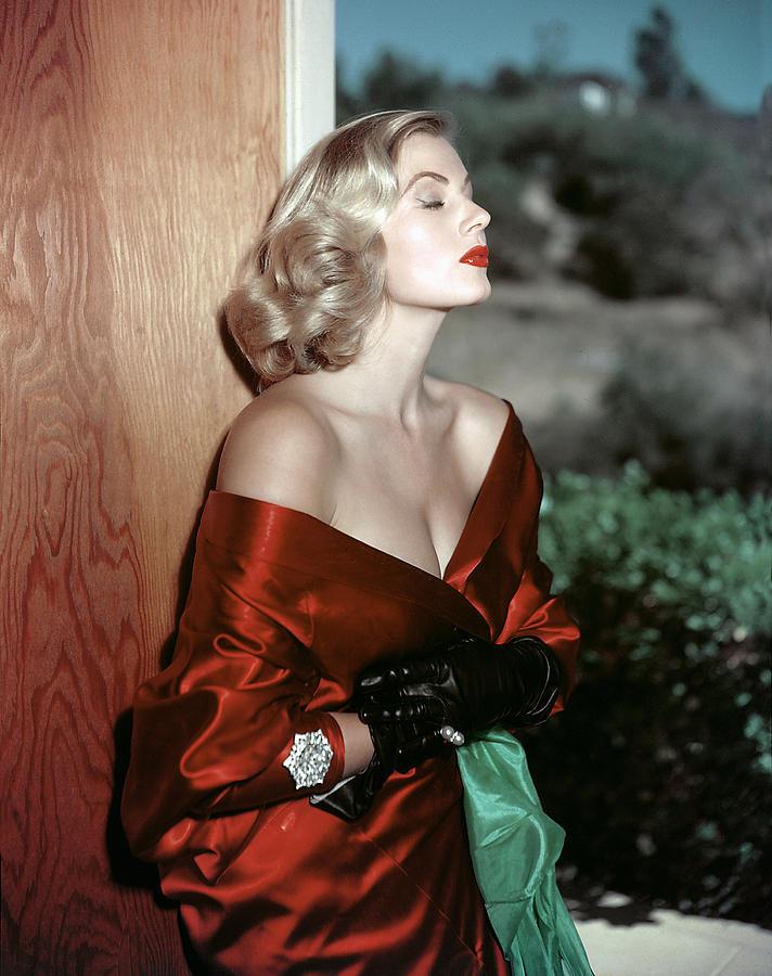 1950s Portraits Photograph - Anita Ekberg, 1950s by Everett