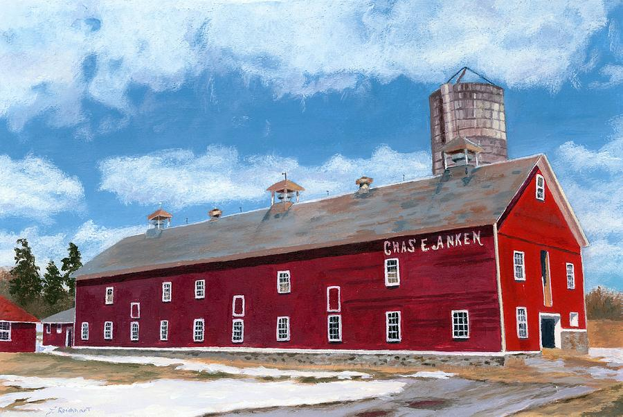 Anken's Barn by Lynne Reichhart