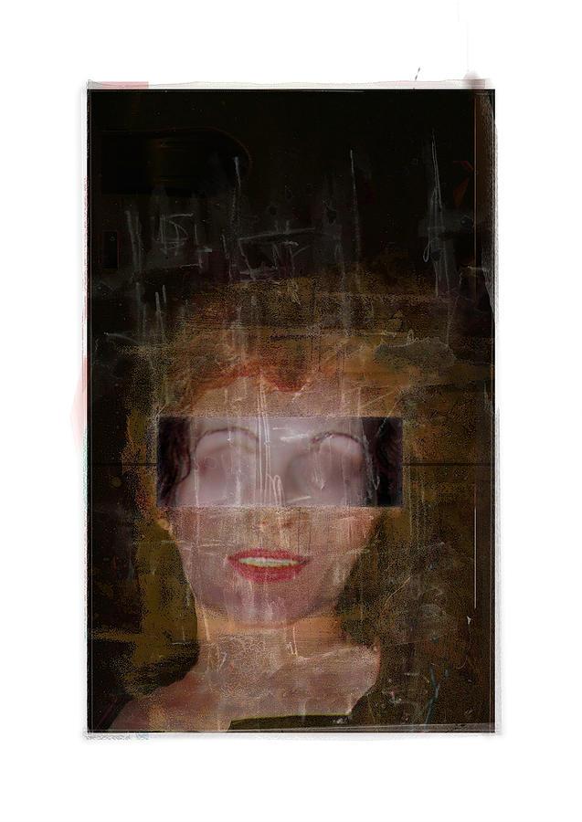 Portrait Digital Art - Ann Hos by Nuff