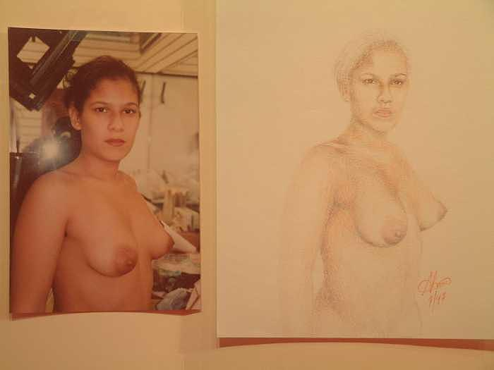 Nude Painting - Anna by Benito Alonso