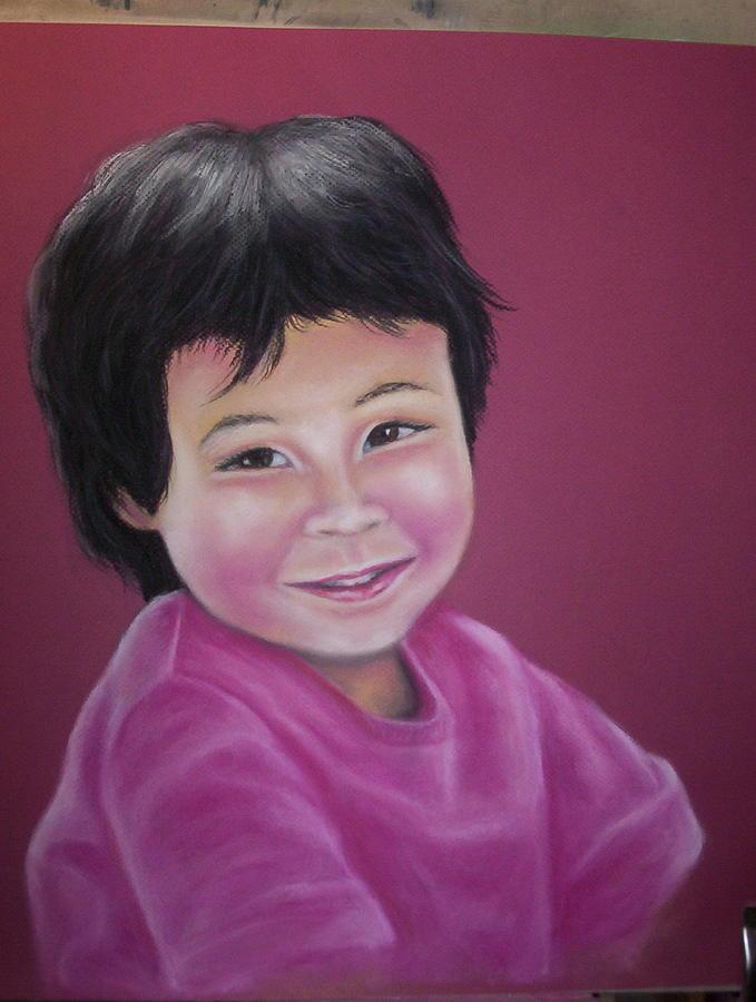 Portrait Pastel - Anna by Deborah Steinmetz