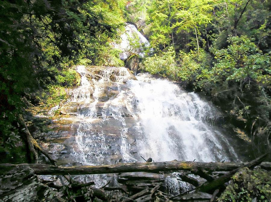 Anna Ruby Falls Photograph - Anna Ruby Falls by Jerry Battle