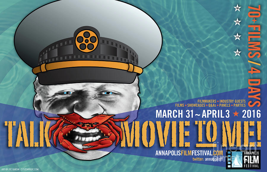 Battleship Potemkin Digital Art - Annapolis Film Festival 2016 Horz by Joe Barsin