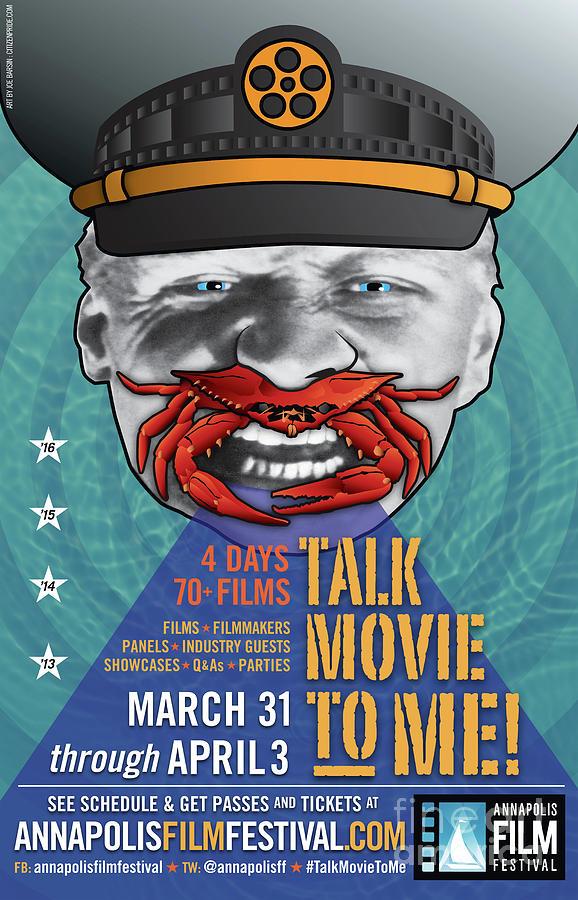 Battleship Potemkin Digital Art - Annapolis Film Festival 2016 Vert by Joe Barsin