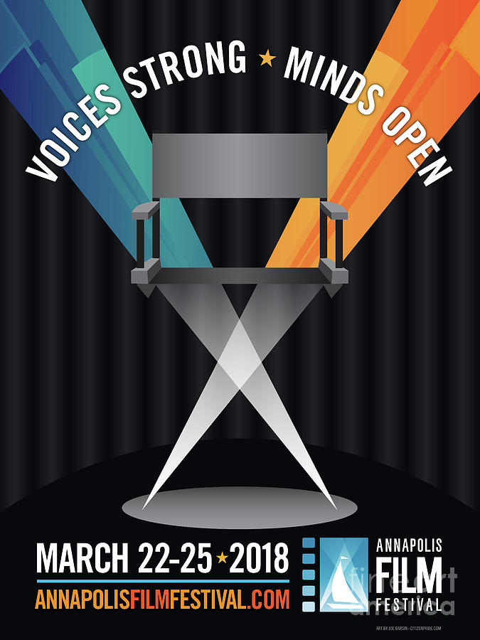 Film Festival Digital Art - Annapolis Film Festival 2018 by Joe Barsin