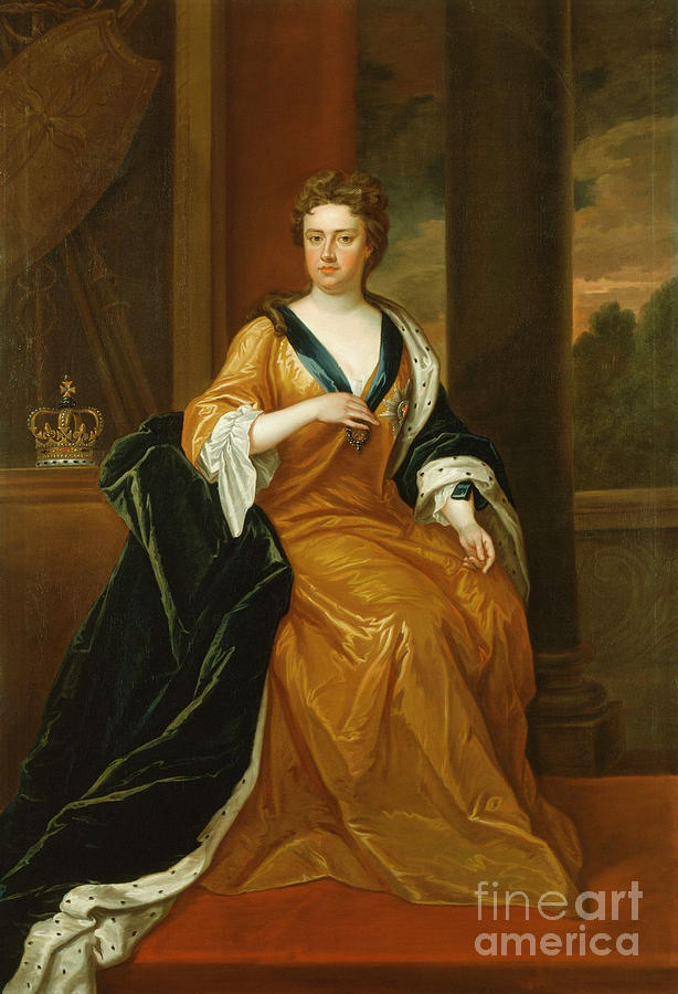 Anne Queen Of Great Britain Painting