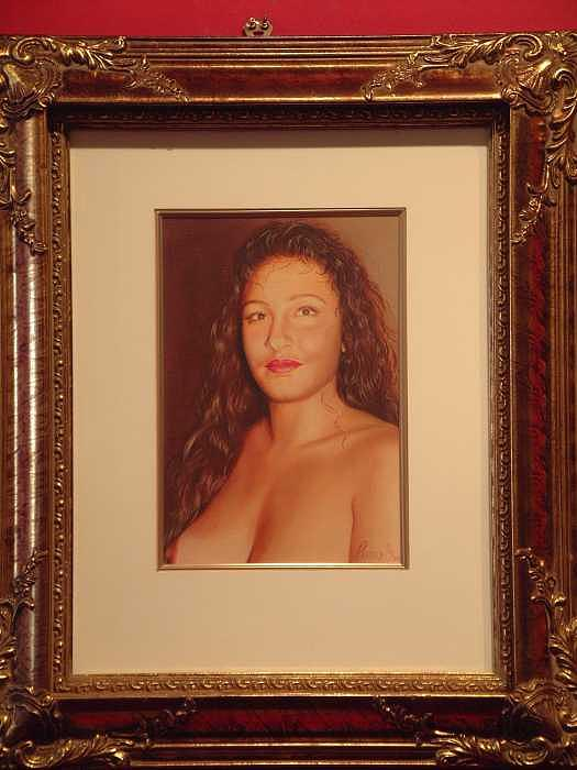 Nude Painting - Annie 10-2 by Benito Alonso