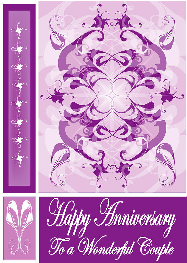 Anniversary Digital Art - Anniversary Card 1 by George Pasini