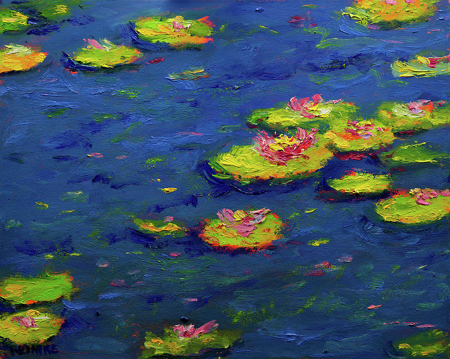 Ann's Pond III by Vernon Reinike