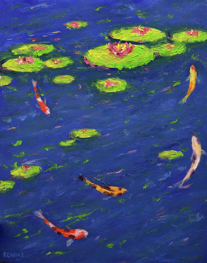 Ann's Pond IV by Vernon Reinike