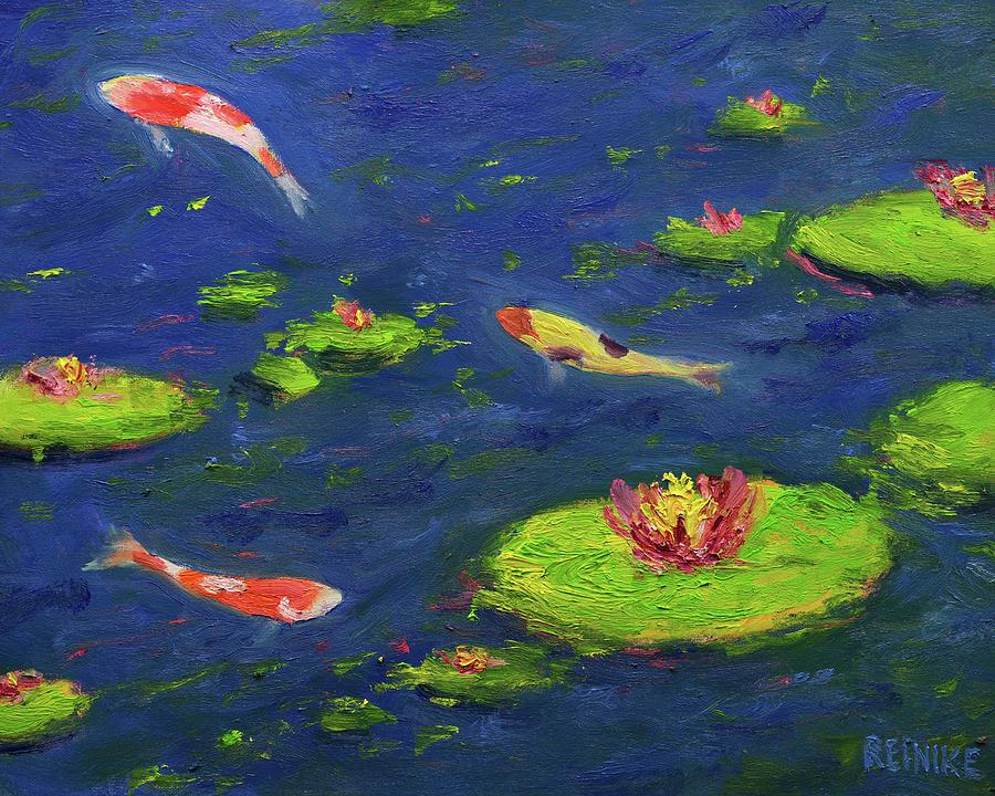 Ann's Pond V by Vernon Reinike
