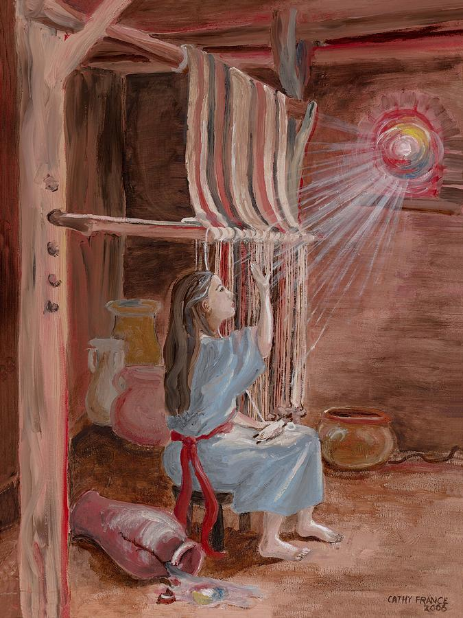 Annunciation Painting - Annunciation To Mary by Cathy France