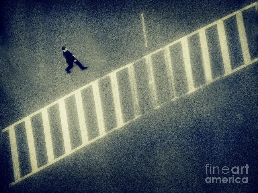 City Photograph - Anonymity by Dana DiPasquale