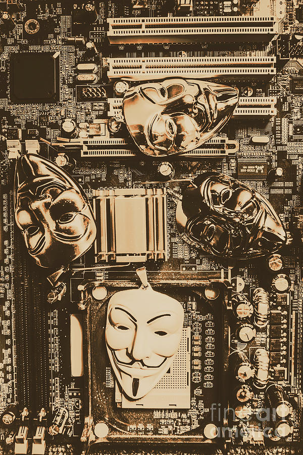 Anonymous Cyber Masks