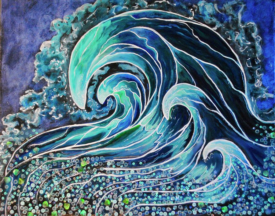 Another Cool Wave by Patricia Arroyo