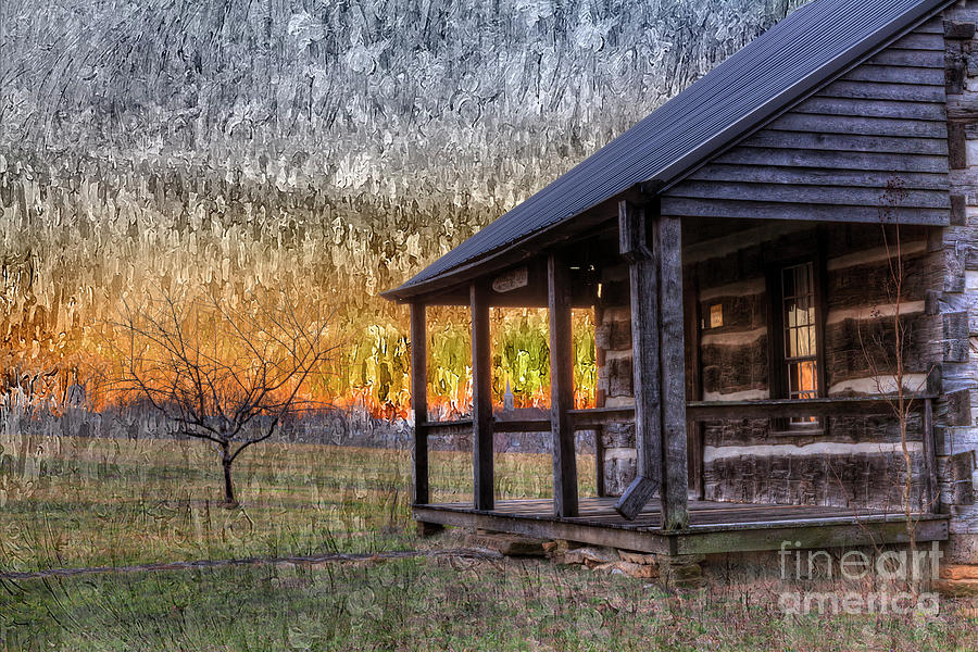 Gold Photograph - Another Day by Larry Braun