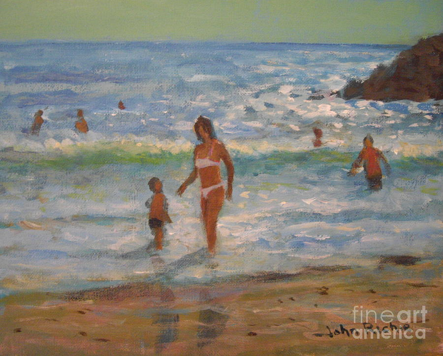 Sea Painting - Another Hot Day by John Richie
