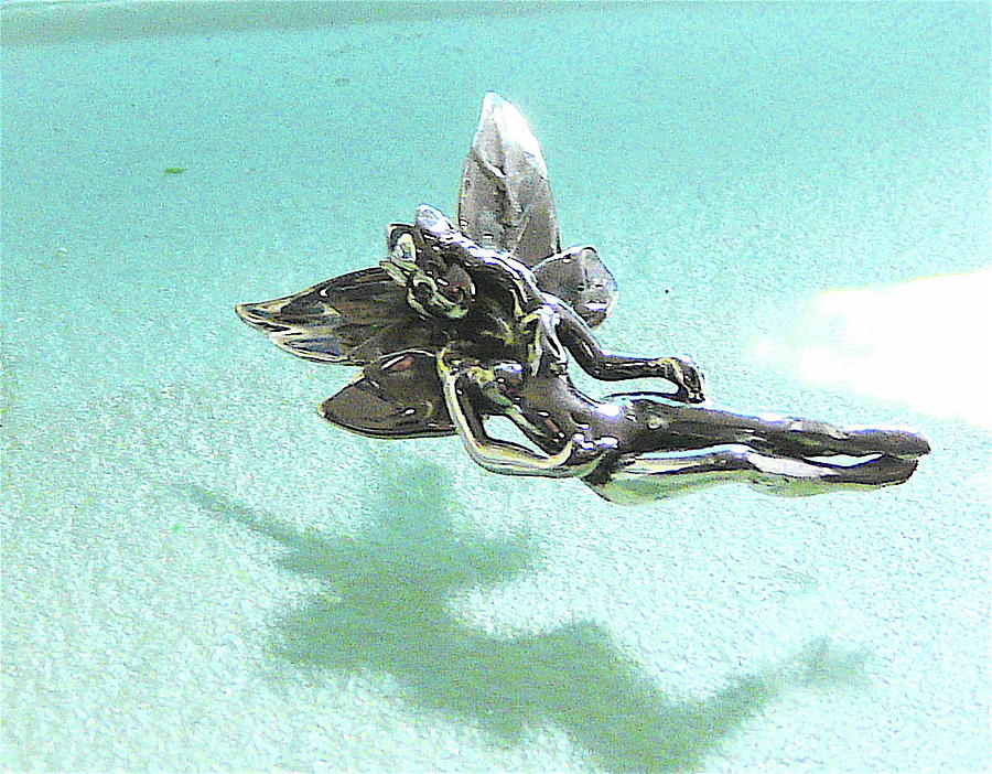 Sterling Silver Jewelry - Another Image Of Fairy by Danny Shaw