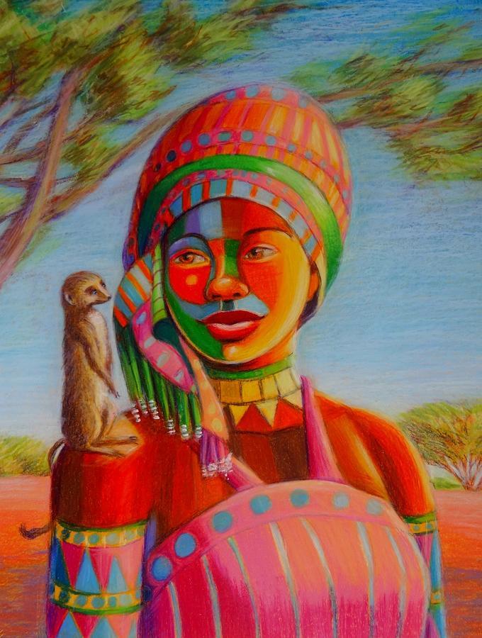Another meerkat sentry by June Walker