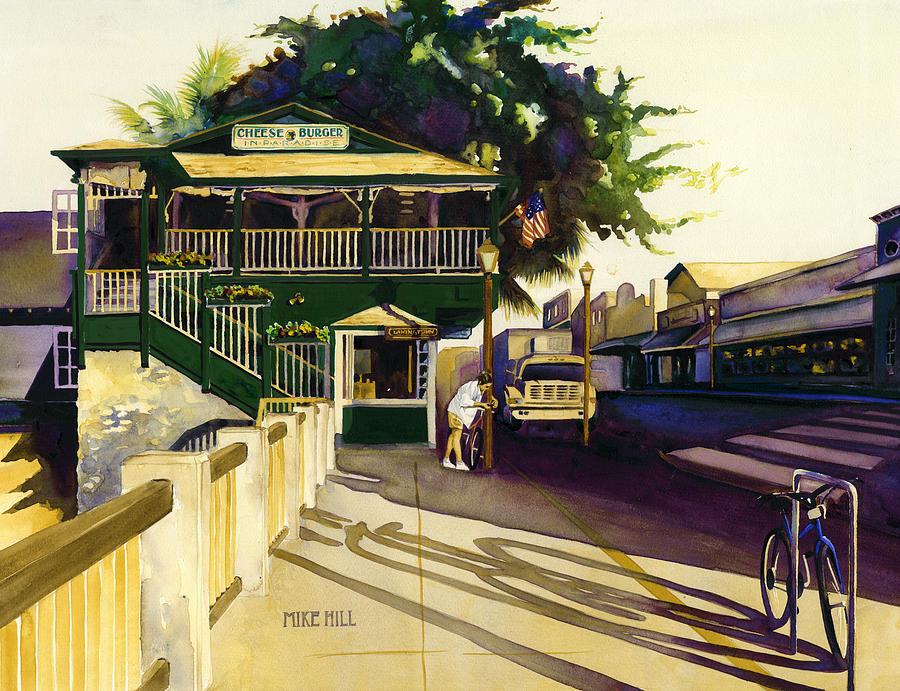 Another Morning In Maui Painting by Mike Hill