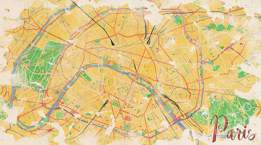 Paris Digital Art - Another Paris by Rouages Design
