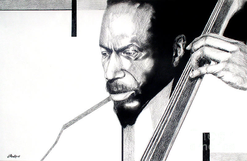Music Drawing - Another Time by Joseph Bowlby