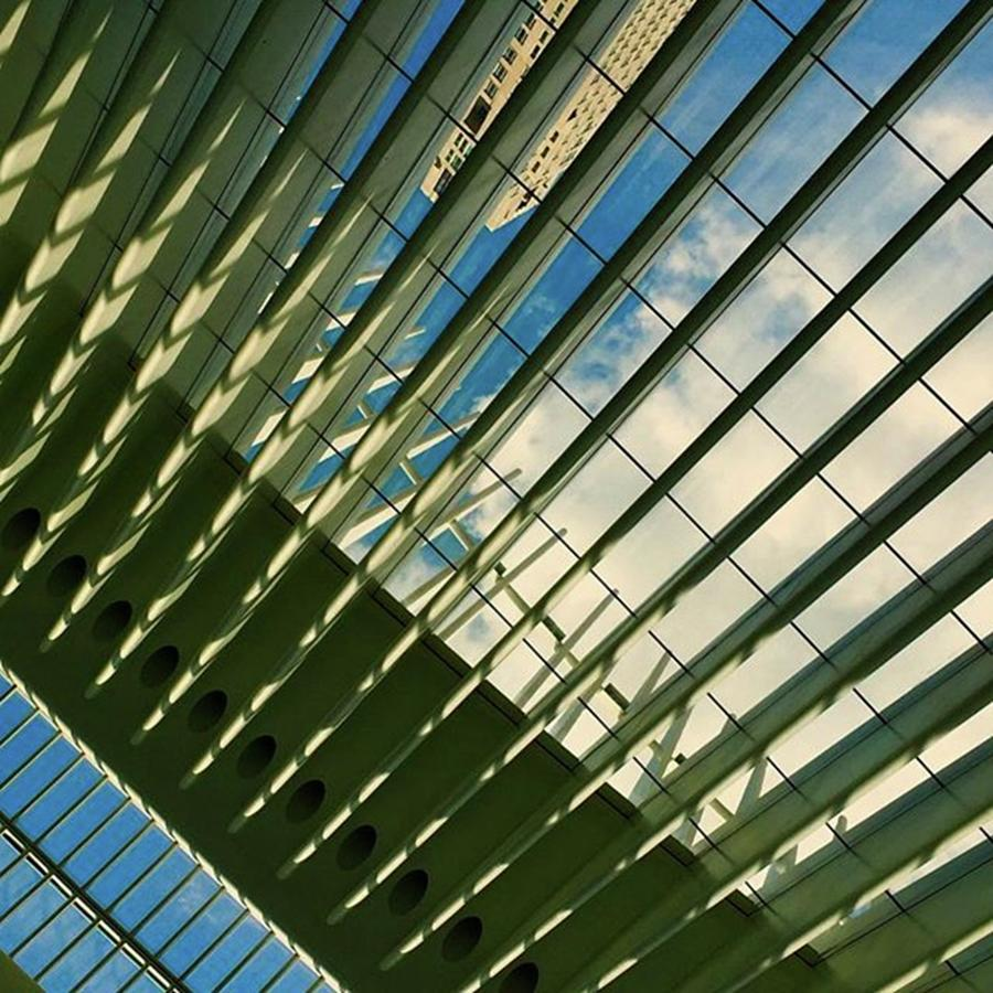 1wtc Photograph - Another View Inside The Transit Hub At by Gina Callaghan