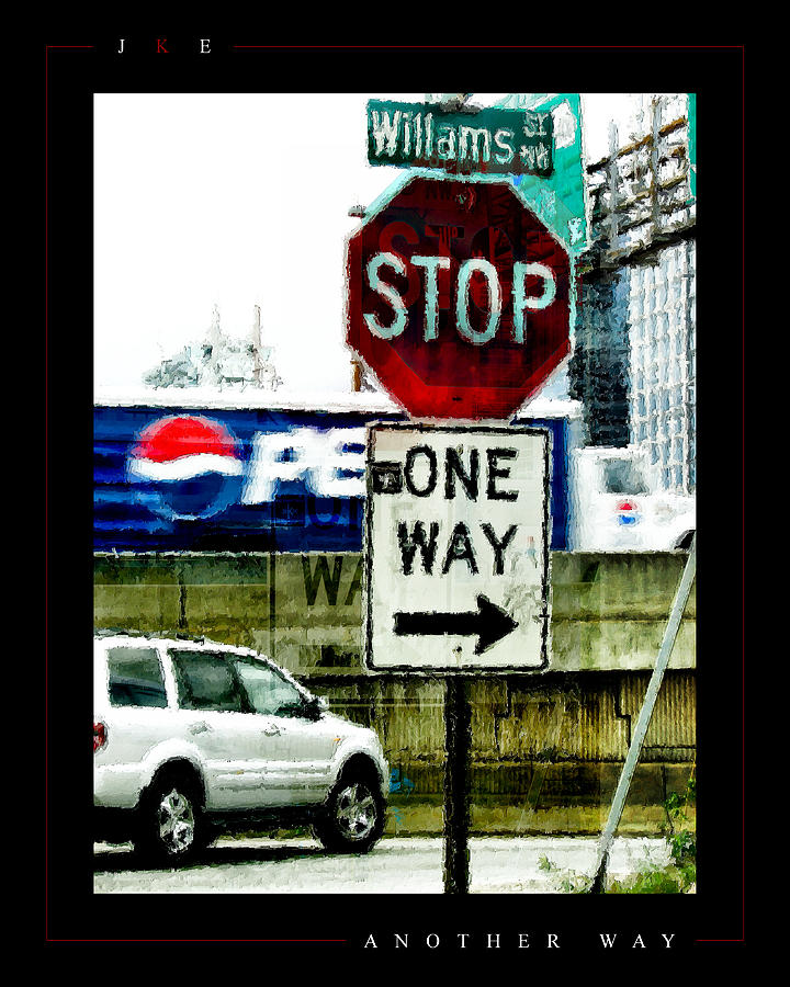Stop Photograph - Another Way by Jonathan Ellis Keys