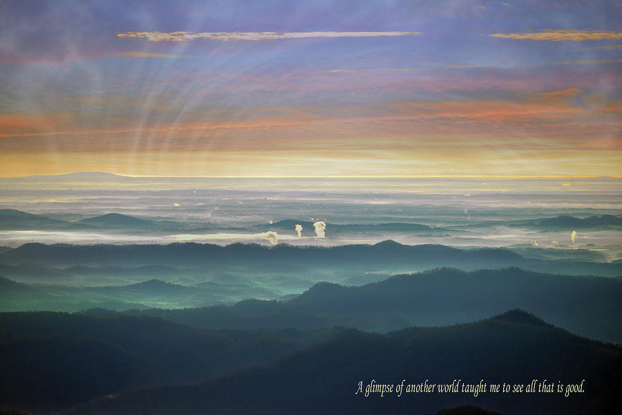 Another World With Text Photograph