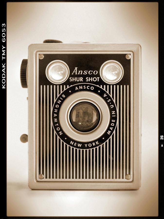 Vintage Film Camera Photograph - Ansco Shur Shot by Mike McGlothlen