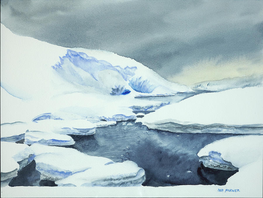 Antarctic Reflections by Deborah Horner