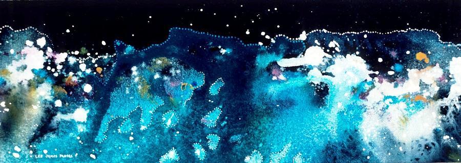 Spiritual Painting - Antares Omega by Lee Pantas
