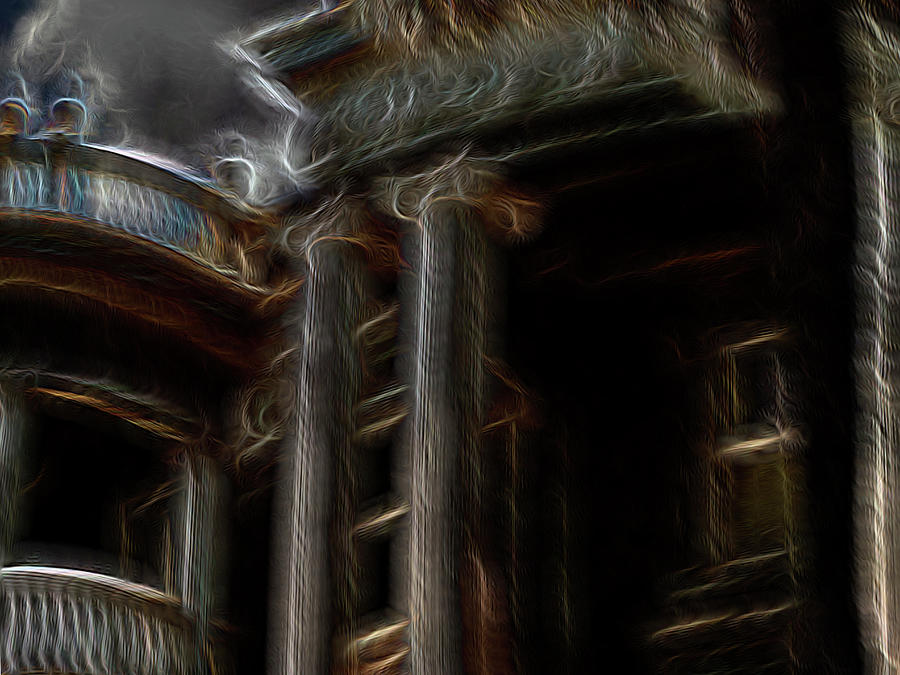 Abstract Digital Art - Ante Bellum by William Horden