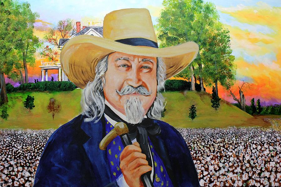 Antebellum Plantation Owner Painting by Karl Wagner